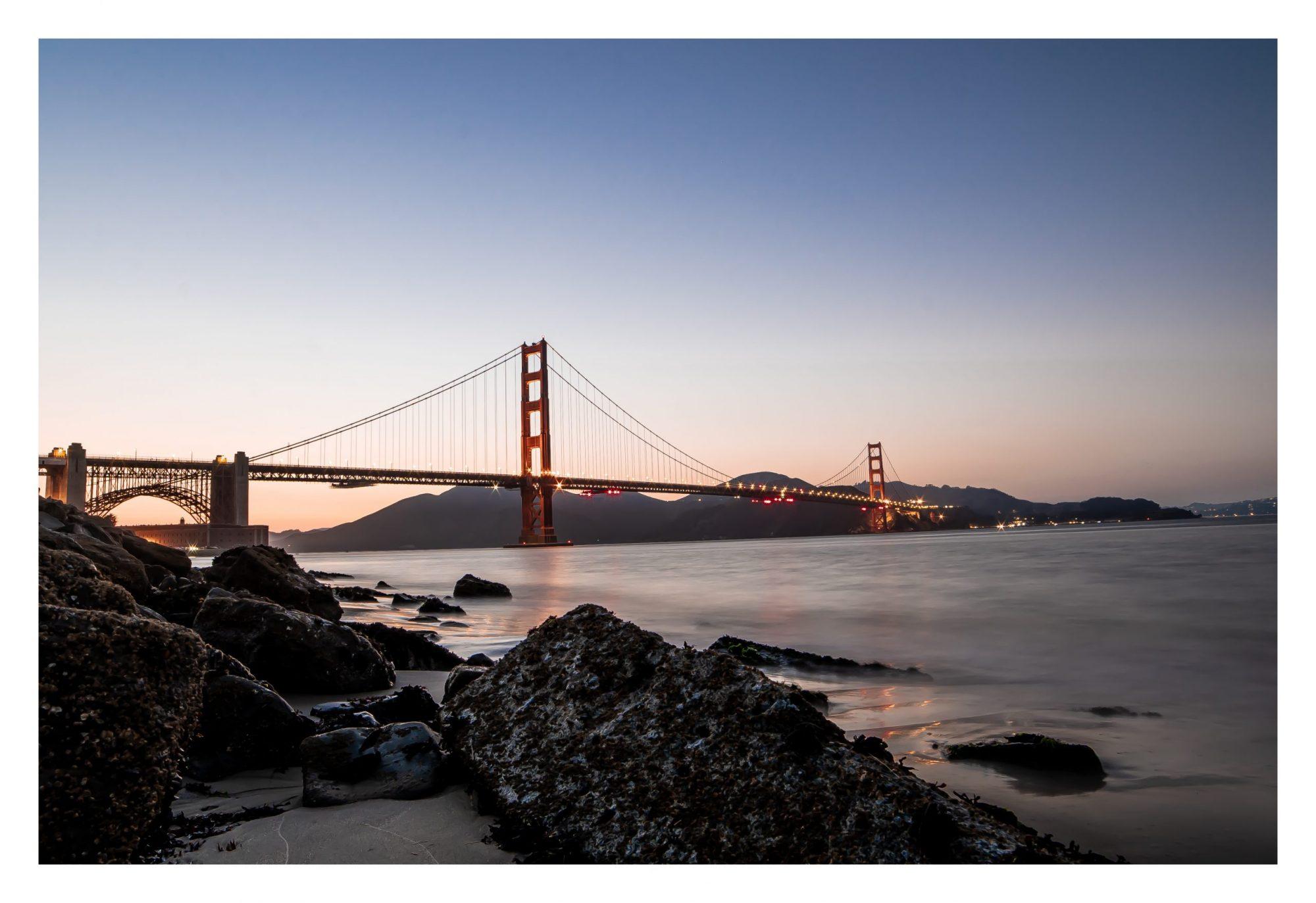 Golden State Bridge Photography